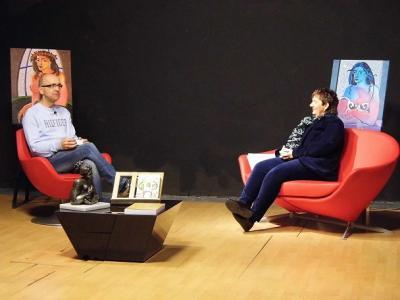 "ENTREVISTA DE CASTELLÓN TV A PILAR BELLÉS SOBRE SU NOVELA ""TRIUNFAR EN TIEMPOS DIFÍCILES"""